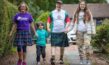 Virtual Kiltwalk will see couple tackling three of Dundee's hills to raise money for Alzheimer Scotland - Evening Telegraph - Evening Telegraph