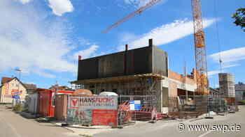 Gemeinderat Gaildorf: Neue Feuerwache nimmt zusehends Gestalt an - SWP