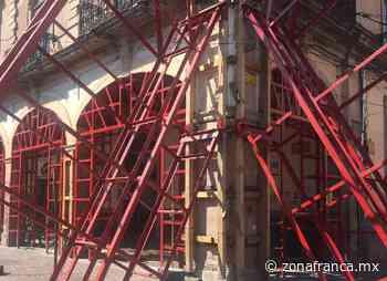"""Demorará otros 2 años restauración del emblemático """"Portal Colunga"""", en Celaya - Zona Franca"""