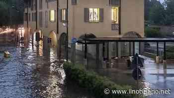 Nubifragio a Paderno: il centro di Dugnano finisce sott'acqua | VIDEO - Il Notiziario - Il Notiziario