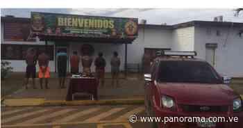 Un abatido y 7 detenidos por extorsión en El Callao, Bolívar - Panorama.com.ve