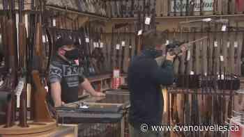 Les armes à feu et munitions se feront rares - TVA Nouvelles