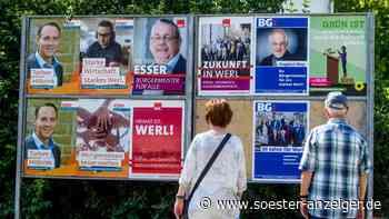 Coronavirus in Werl: Heimische Parteien investieren in Werbung und suchen das Gespräch vor Ort - Soester Anzeiger