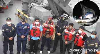 Rescatan a pescadores desaparecidos por varios días en el mar del Callao (VIDEO) - Diario Correo