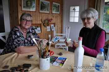 Steinmaler: Kleine Kunstwerke sind Fundstücke - Volksstimme