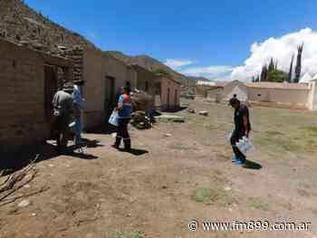 Asistieron a 27 familias en la Quebrada del Toro - La Radio de Martin Grande