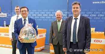 94,2 Prozent für Christian von Stetten - STIMME.de - Heilbronner Stimme