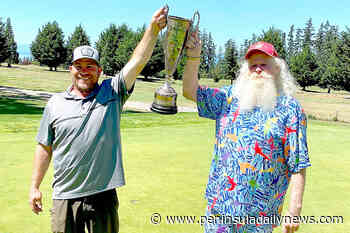 GOLF: Tisdale, Osterberg win Peninsula Men's Club - Peninsula Daily News