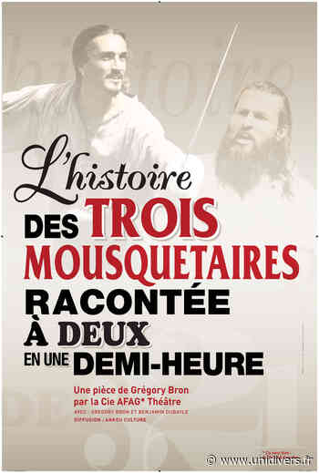 Les 3 Mousquetaires en 30 minutes Clamart,quartier du Pavé Blanc jeudi 6 août 2020 - Unidivers