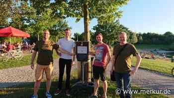Aufklärung zum Thema Müll: Infospaziergang am Bergfeldsee Poing - Merkur.de