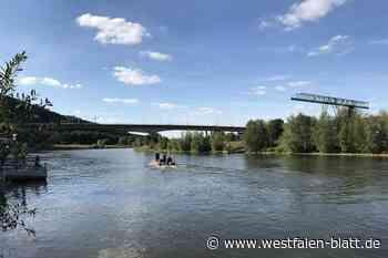 Kleinkind und Mann bei Vlotho auf Boot verletzt – Verfahren wegen gefährlicher Körperverletzung: Kanufahrer wirft Flasche - Westfalen-Blatt