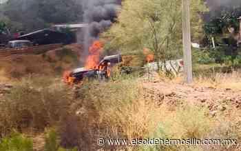 Grupo criminal incendia vehículos en el municipio de Santa Ana - El Sol de Hermosillo
