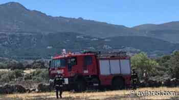 Fuego intencionado en el punto limpio de Hoyos del Espino - Avilared