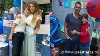 En casa y por separado, Grettell Valdez y Patricio Borghetti celebran el cumpleaños de su hijo - Las Estrellas TV