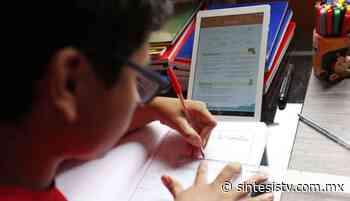Próximo ciclo escolar podría iniciar en línea: Bonilla Valdez - Sintesis Tv