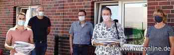 Caritas: 3000 Masken für Goldschmaus-Mitarbeiter genäht - Nordwest-Zeitung