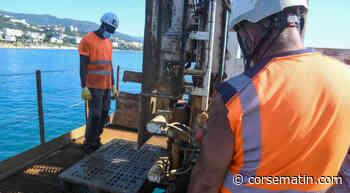 Bastia : les études géotechniques pour définir « le port de demain » - Corse-Matin