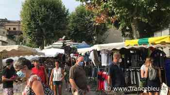 Le port du masque dorénavant obligatoire sur les marchés de Granville - France Bleu