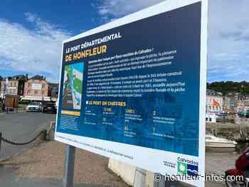 Le port départemental honfleurais se dote de panneaux explicatifs - Honfleur Infos