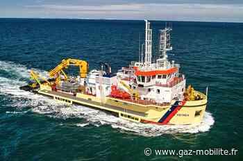Le port de Bordeaux reçoit sa première drague GNL - Gaz-Mobilite.fr