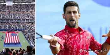 Novak Djokovic lässt sich US-Open-Bälle nach Serbien schicken - Nau.ch