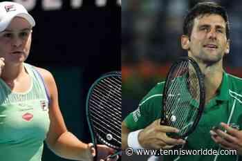 Novak Djokovic und Ash Barty haben die olympische Goldmedaille im Visier - Tennis World DE