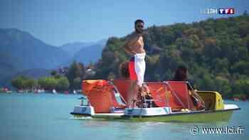 À Annecy, les vacanciers cherchent la fraîcheur près du lac - LCI