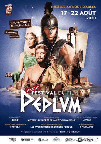 Festival du Film Peplum Théâtre antique d'Arles lundi 17 août 2020 - Unidivers