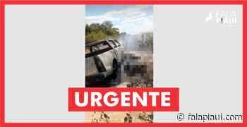 Fazendeiro e amigo são mortos queimados dentro de carro no Maranhão - Fala Piauí