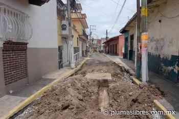 Rehabilitan la calle Belisario Domínguez del centro de Xalapa - plumas libres