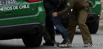 Dos detenidos: vendedores de drogas intentan a atropellar a Carabineros de Talcahuano - Diario Concepción