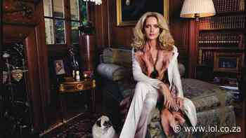 SA model Georgina Grenville secures the bag in Versace ad campaign - Independent Online