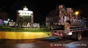 Enfrenta GN a integrantes de la CJNG en Tepalcatepec - El Tiempo de México