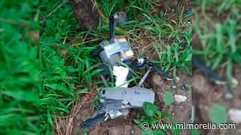 Hallan dron con explosivos en Tepalcatepec, Michoacán - MiMorelia.com