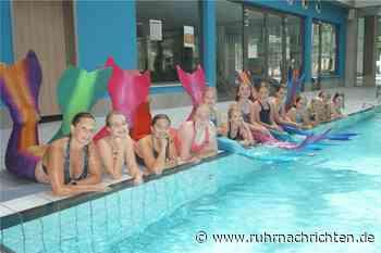 Mermaiding-Kurse im Solebad in Werne kommen gut an - Ruhr Nachrichten
