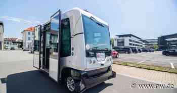 Fahrerloser Mini-Bus sorgt in Bad Essen für Aufsehen - Neue Westfälische