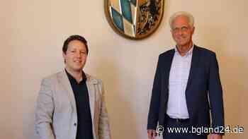Bad Reichenhall: Peter Ramsauer auf Antrittsbesuch bei neuem Oberbürgermeister Christoph Lung - bgland24.de