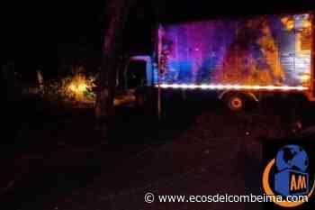 Asesinaron anoche al conductor de una turbo entre Ortega y el Guamo - Ecos del Combeima