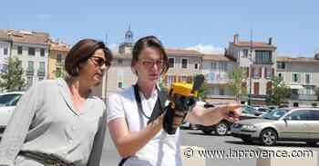 Manosque : des capteurs de chaleur en ville pour repenser l'espace public - La Provence