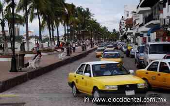 Taxistas de Puerto Vallarta reciben sello que los identifica como libres de Covid-19 - El Occidental