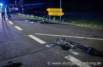 Landesstraße 1177 bei Weissach - VW-Fahrer übersieht 33-Jährigen auf Rennrad – Radler schwer verletzt - Stuttgarter Zeitung