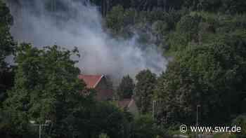 Feuer auf Mülldeponie bei Ellwangen unter Kontrolle | Ulm | SWR Aktuell Baden-Württemberg | SWR Aktuell - SWR