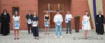 Konfirmation im Freien : 14 junge evangelische Christen in Moosburg feierlich konfirmiert - idowa