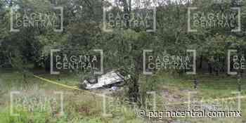 Muere hombre en volcadura cerca de Vergel de la Sierra - Página Central