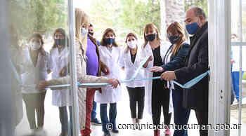 El Caps de El Cadillal amplió sus servicios sanitarios - Comunicación Tucumán