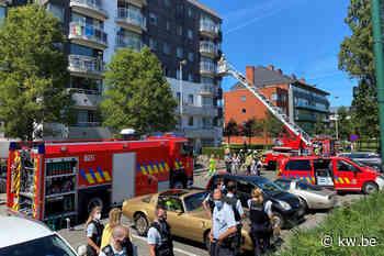Appartementsgebouw ontruimd na brand