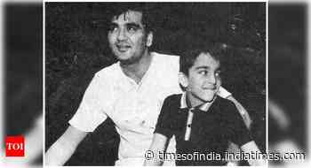 Sanjay's throwback pic with dad Sunil Dutt