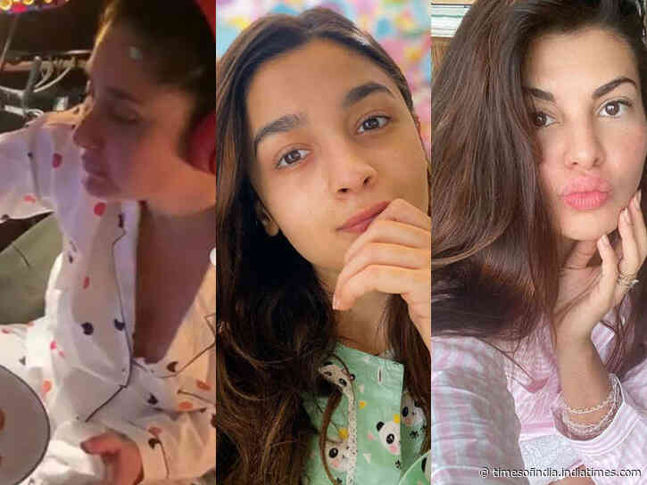 Bollywood divas spotted in comfy pyjamas
