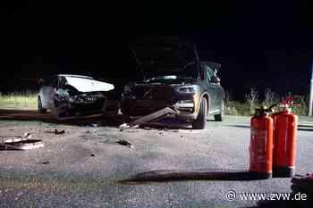 Verkehrsunfall mit zwei Verletzten und 40 000 Euro Schaden in Remseck - Homepage - Zeitungsverlag Waiblingen