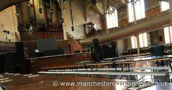 Manchester's Albert Hall will reopen on Saturday with a Bavarian festival